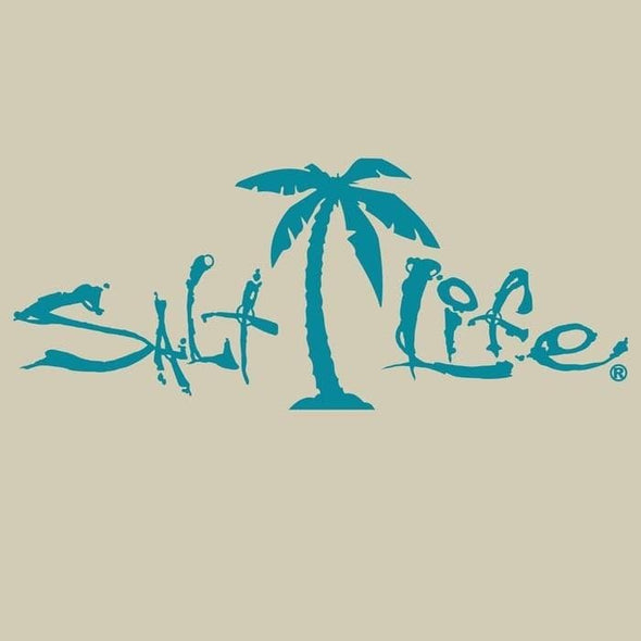 Decal Salt Life Palm Tree Decal - Shop The DocksSalt Life Decal