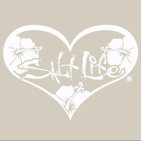 Decal Salt Life SL Heart Decal - Shop The DocksSalt Life Decal