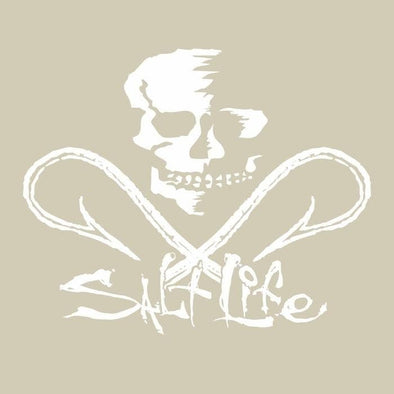 Gifts Salt Life Hooked Skull Decal - Shop The DocksSalt Life Gifts