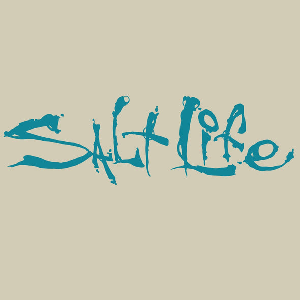 Decal Salt Life Signature Salt Life Decal - Shop The DocksSalt Life Decal