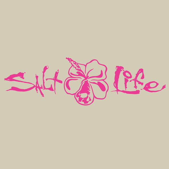 Gifts Salt Life Signature Hibiscus Decal - Shop The DocksSalt Life Gifts