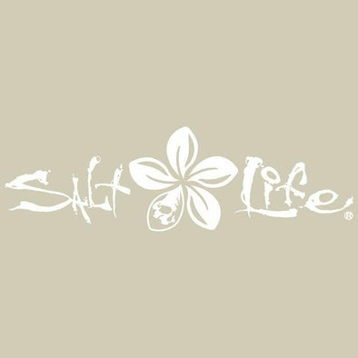 Gifts Salt Life Signature Plumeria Decal - Shop The DocksSalt Life Gifts