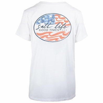 Apparel Salt Life Women's Ameridream Boyfriend Sunburnt Tee - Shop The DocksSalt Life Apparel