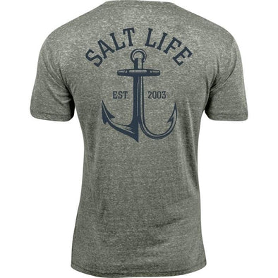Apparel Salt Life Men's Anchor Gaff Tri Blend Short Sleeve Tee - Shop The DocksSalt Life Apparel