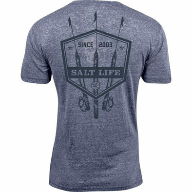 Apparel Salt Life Men's Tres Shots Tri Blend Short Sleeve Tee - Shop The DocksSalt Life Apparel