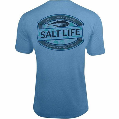 Apparel Salt Life Men's Life In The Cast Lane Performance Pocket Tee - Shop The DocksSalt Life Apparel