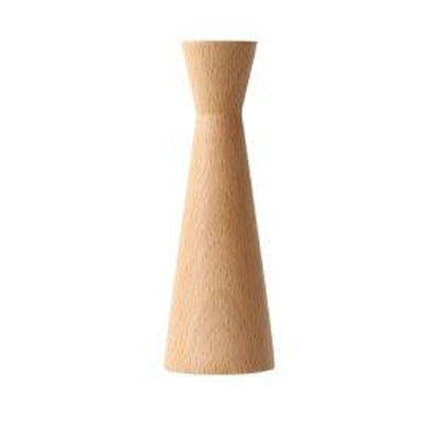 Stylish modern wooden candle holders