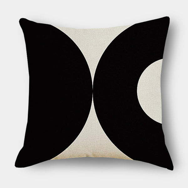 Autumn bold graphic colour leaf cushions