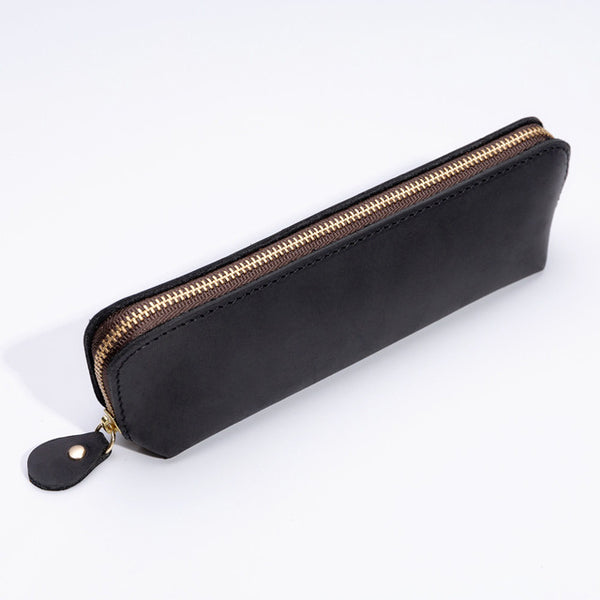Handmade leather pencil cases