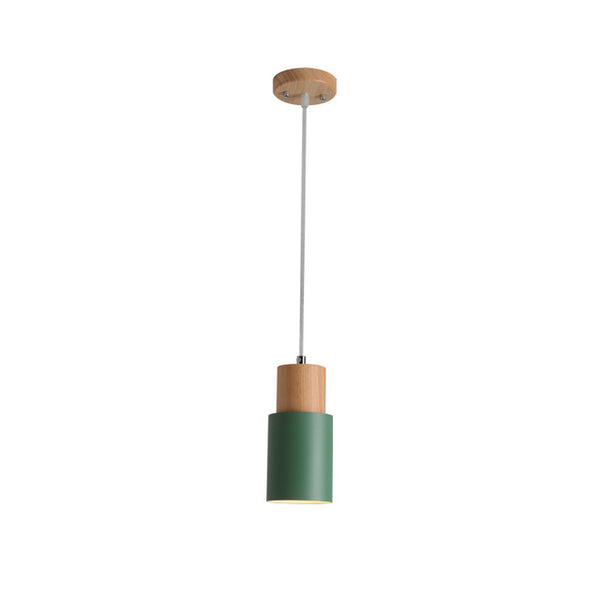 Green scandi pendant lights