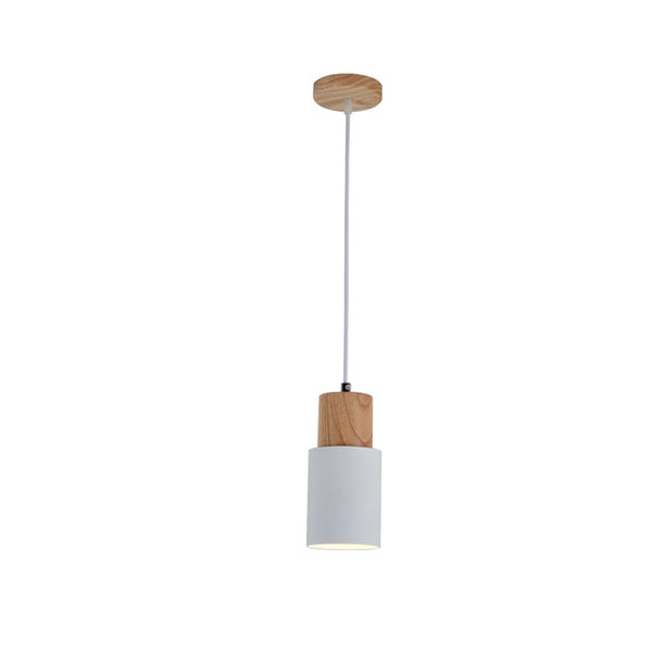 White scandi pendant lights