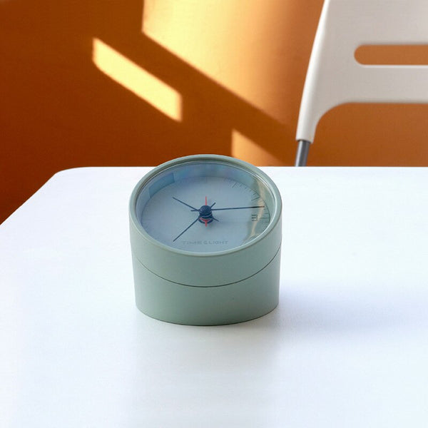 Modern double-sided light alarm clock