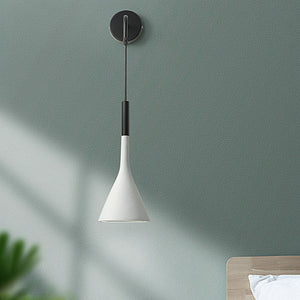 Contemporary edside pendant wall lights