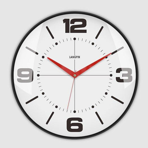 Modern retro large wall clock