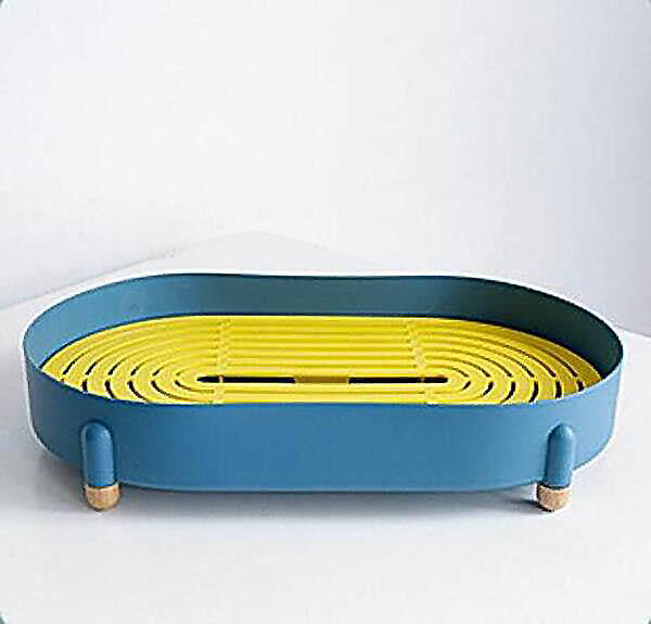 Elipse plastic colour serving storage tray