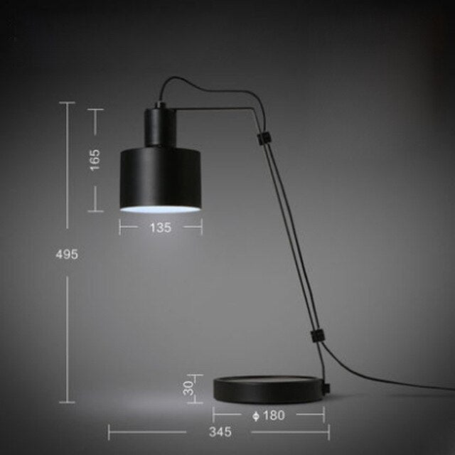 Modern minimalist scandi table lamps