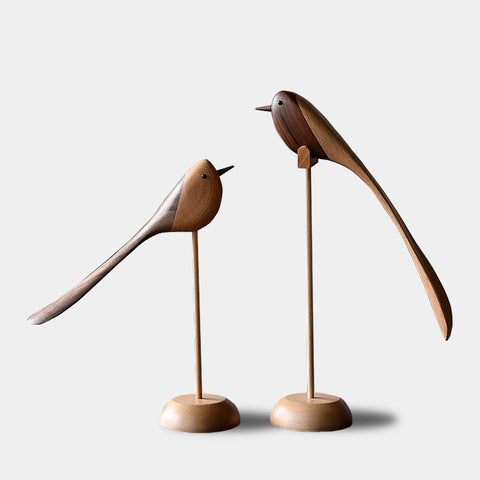 Danish wooden birds