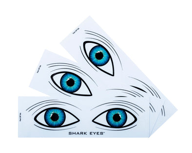 Shark-Eyes-visual-shark-deterrent-white-stickers-3 Pack