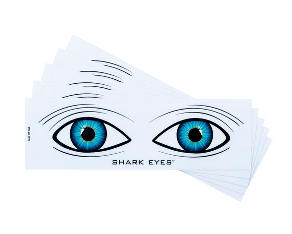 Shark-Eyes-visual-shark-deterrent-clear-stickers-5 Pack