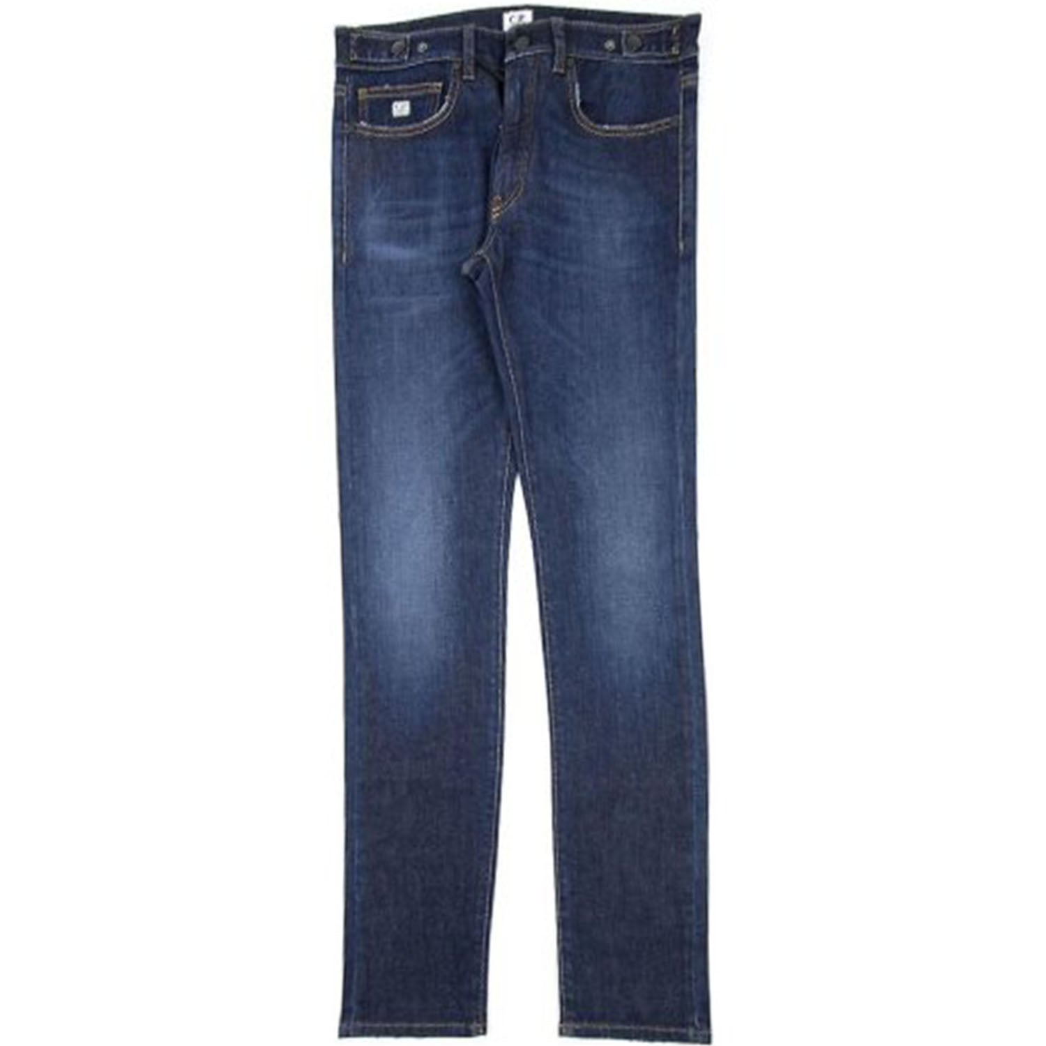 CP Company Blue Wash Slim Fit Jeans