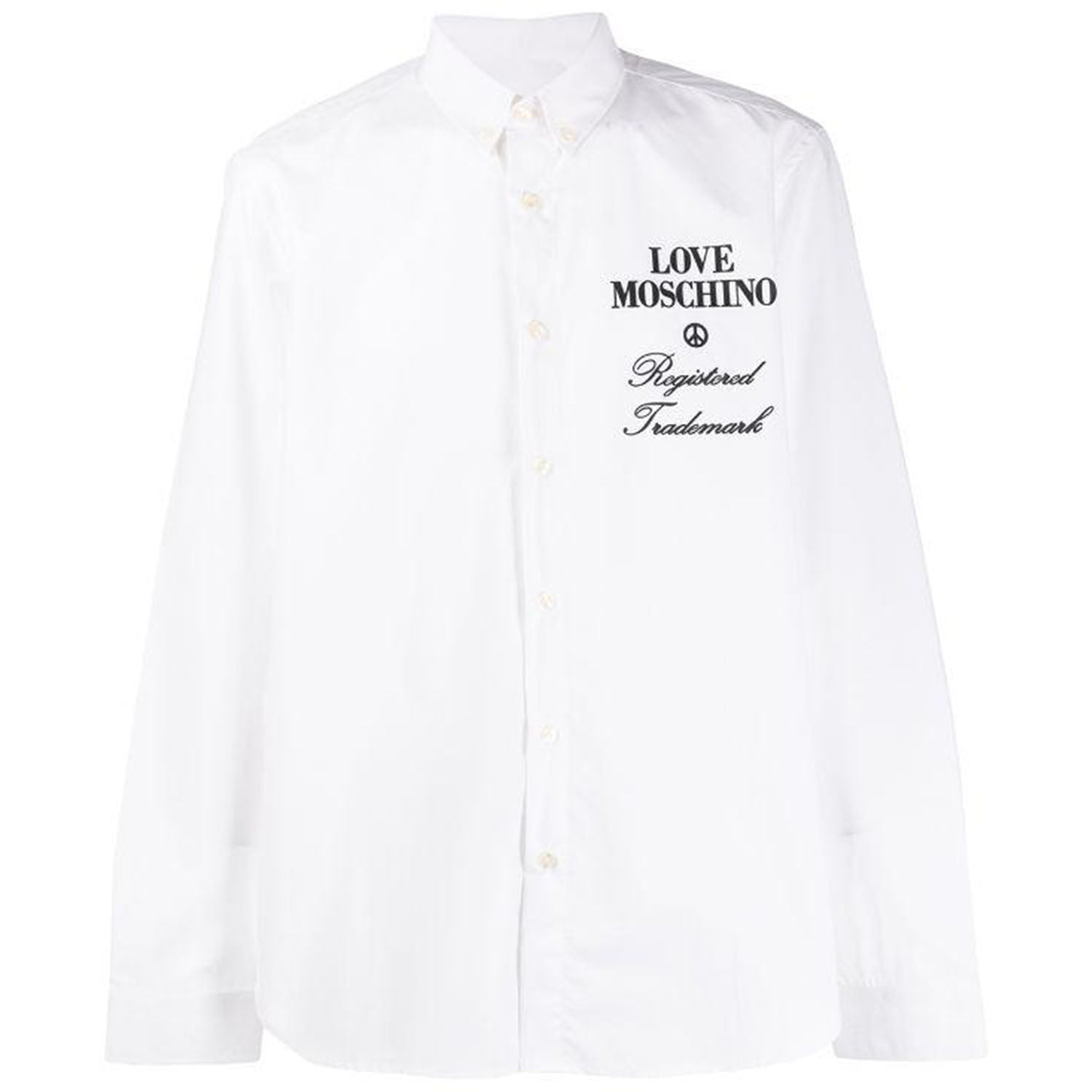 Love Moschino Oversized Logo Shirt