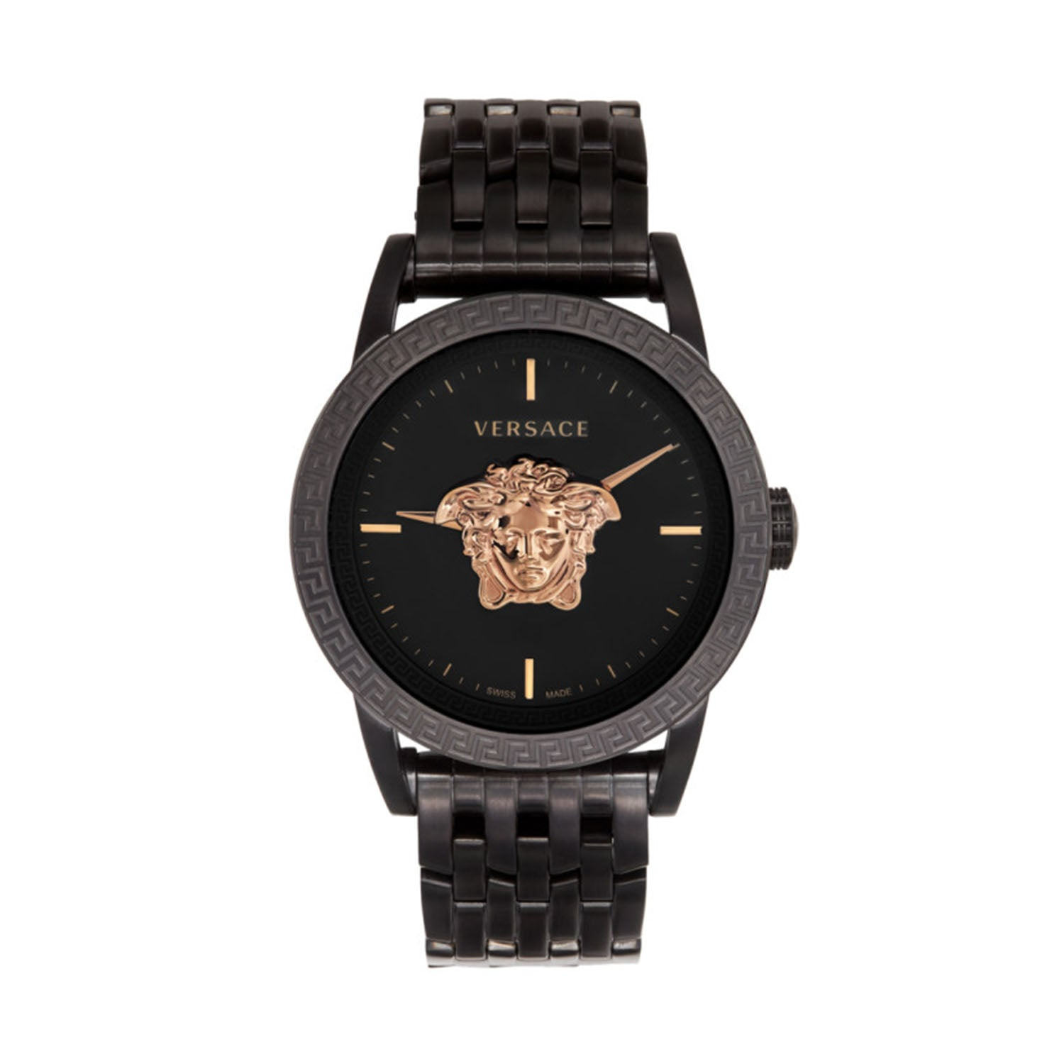 Versace Palazzo Empire Men's Watch Black Steel