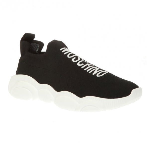 Moschino Sock Sneaker With Logo