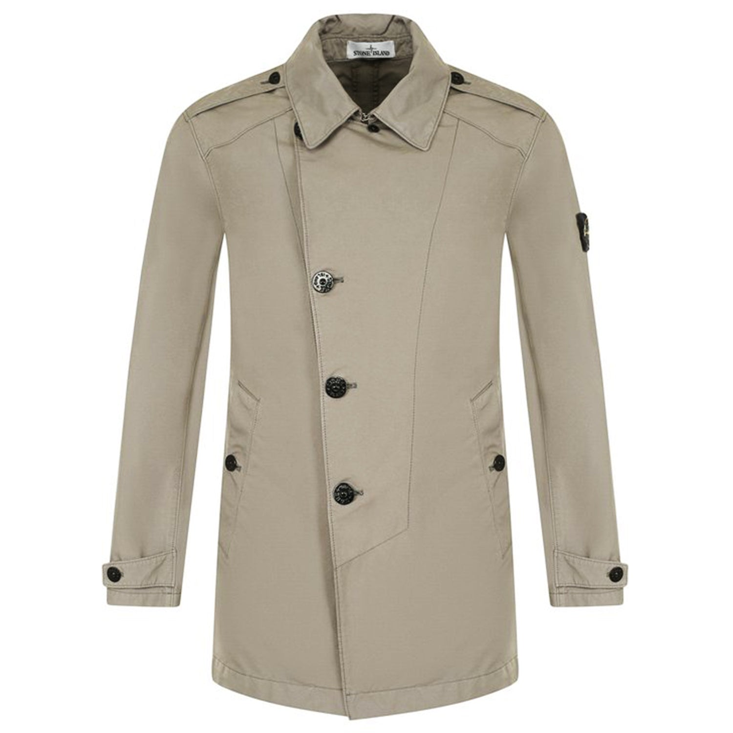 Stone Island David TC Single-Breasted Coat