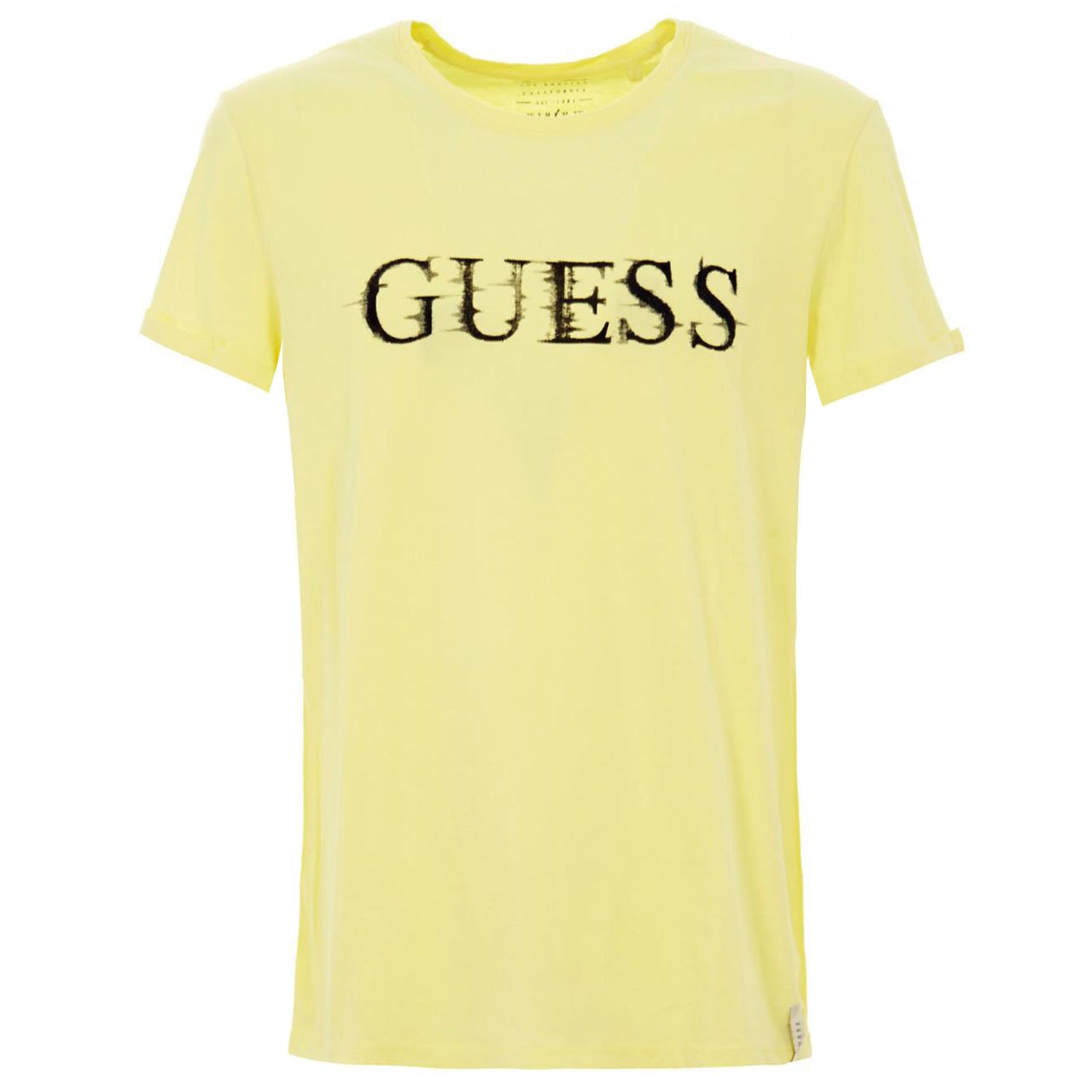 Guess Logo Detail Slim Fit T-Shirt