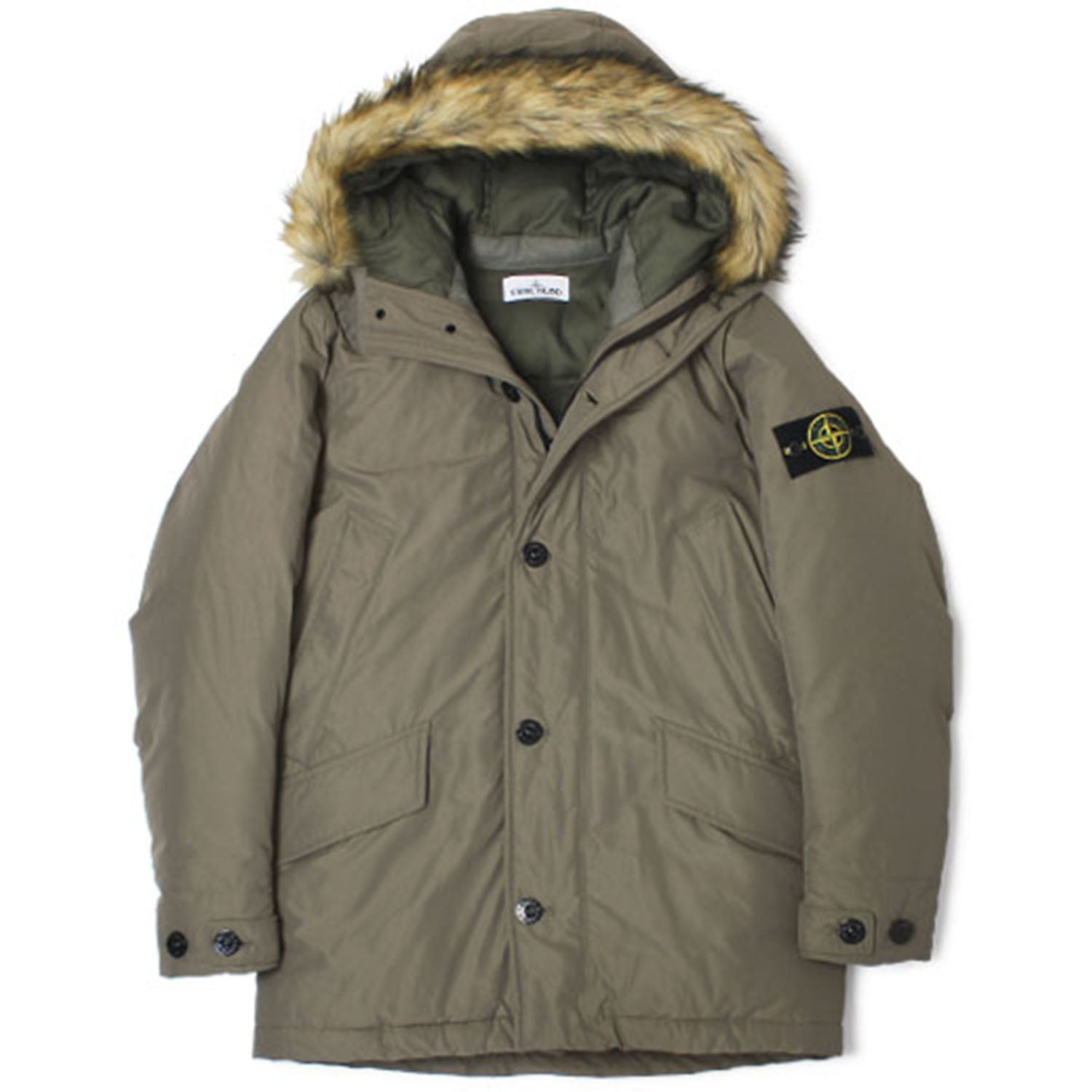 Stone Island Down Hooded Parka