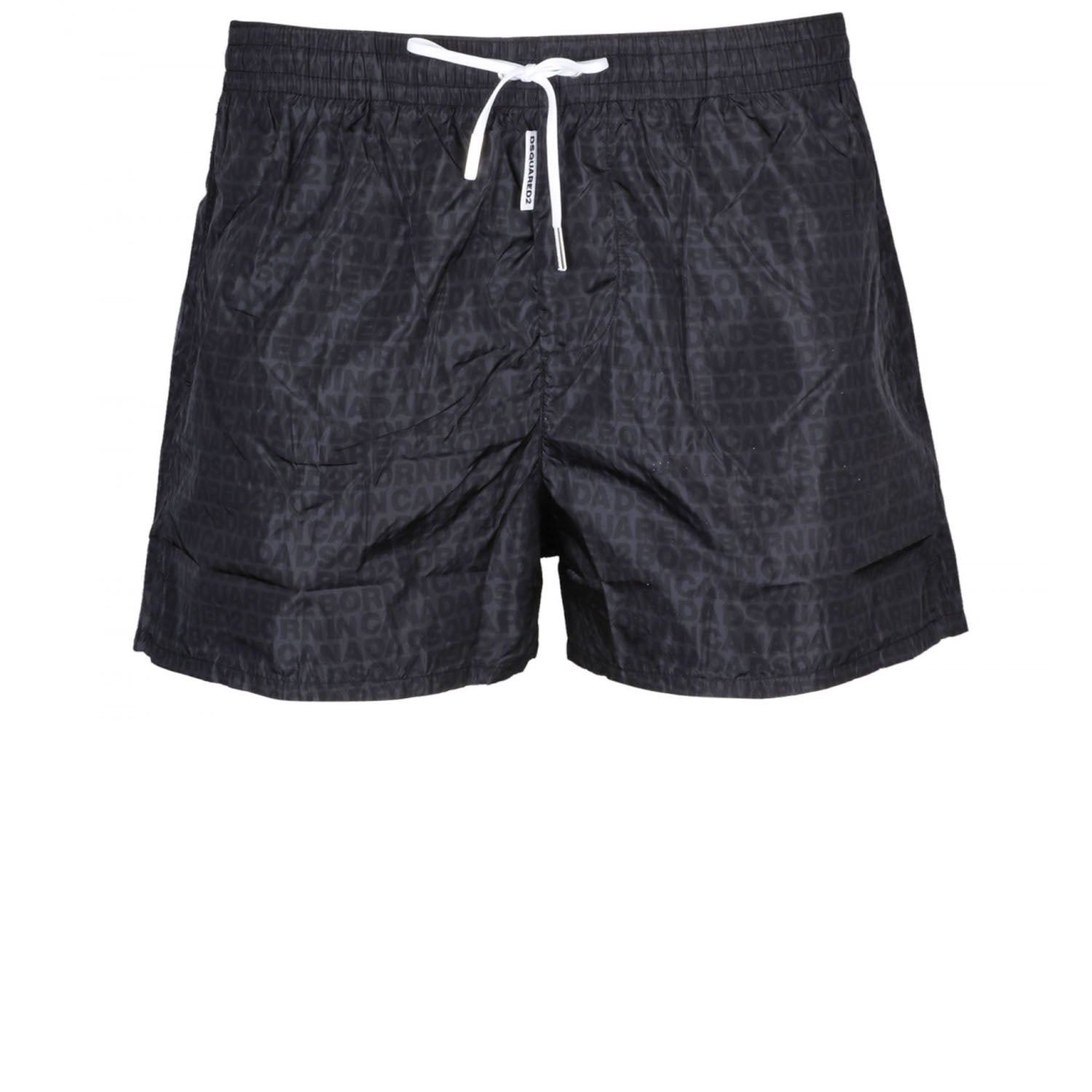 DSquared2 All Over Logo Swim Shorts