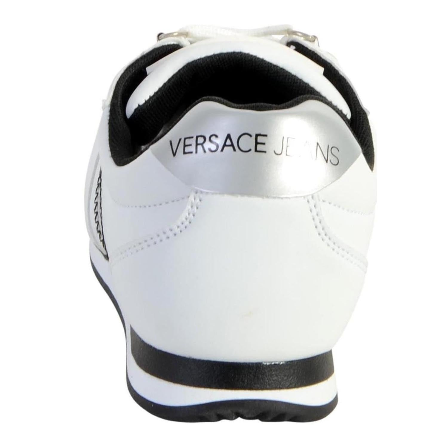 Versace Jeans Stripe Detail Low Top Trainer
