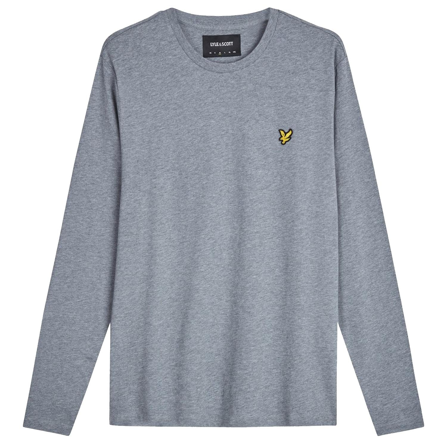 Lyle & Scott Embroidered Logo Long Sleeve T-Shirt