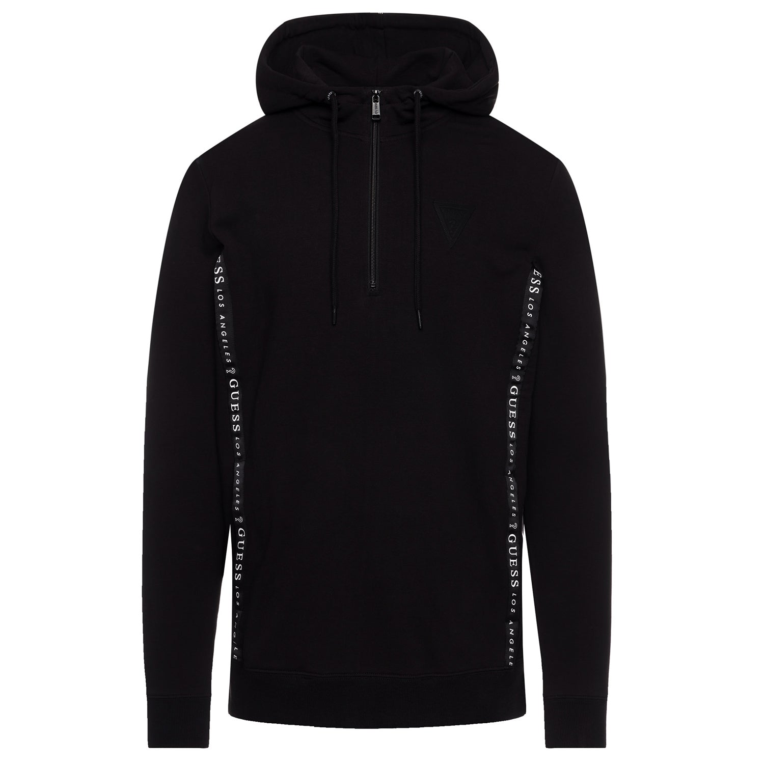 Guess Chase Half Zip up Hooded Sweatshirt