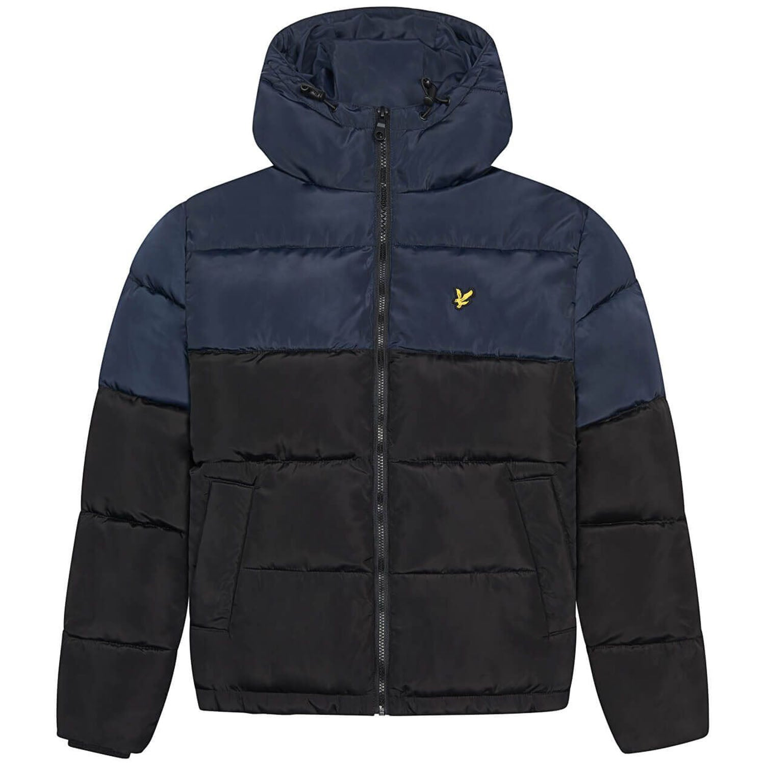 Lyle & Scott Colourblock Puffer Jacket