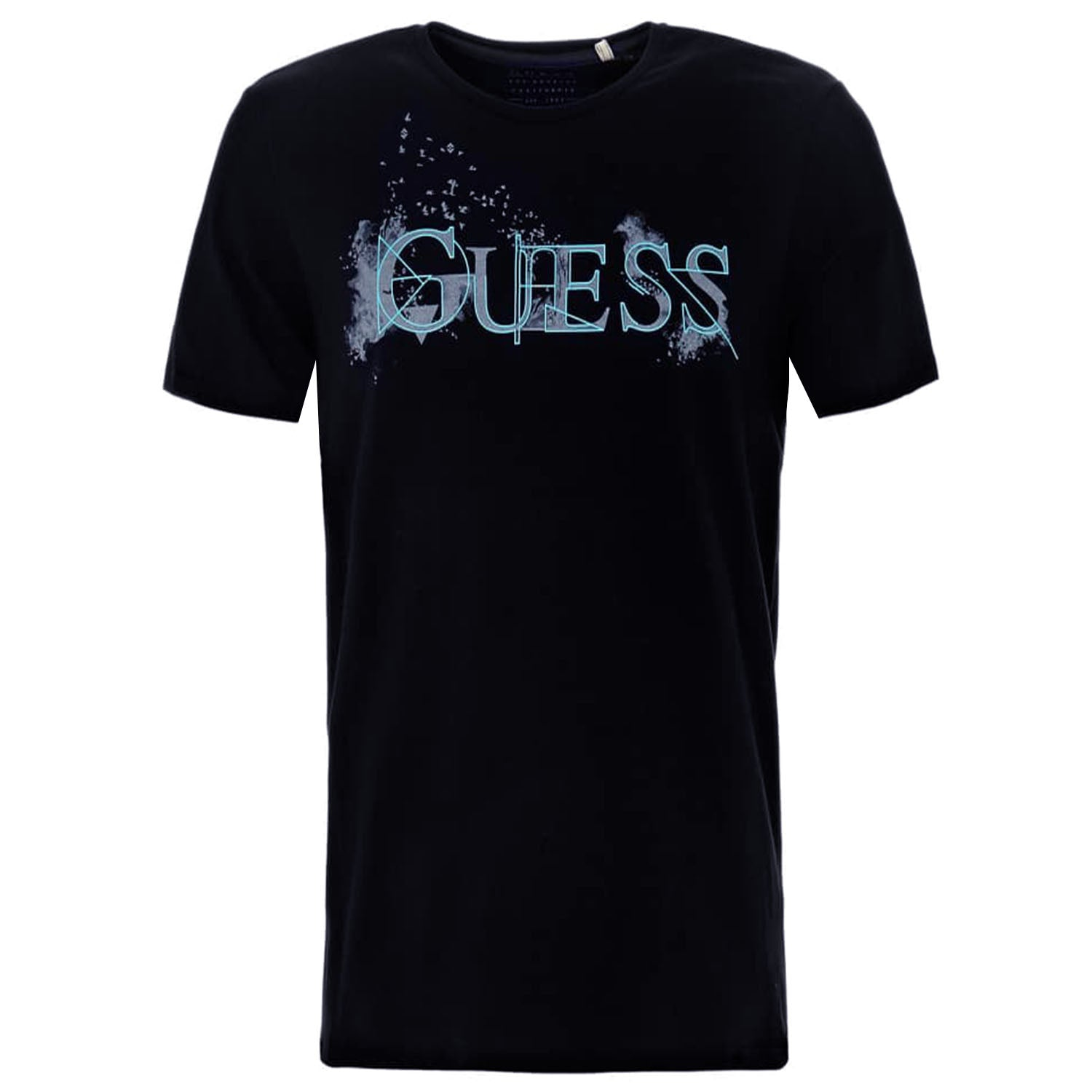 Guess Extra Slim Fit Front Logo Print T-Shirt