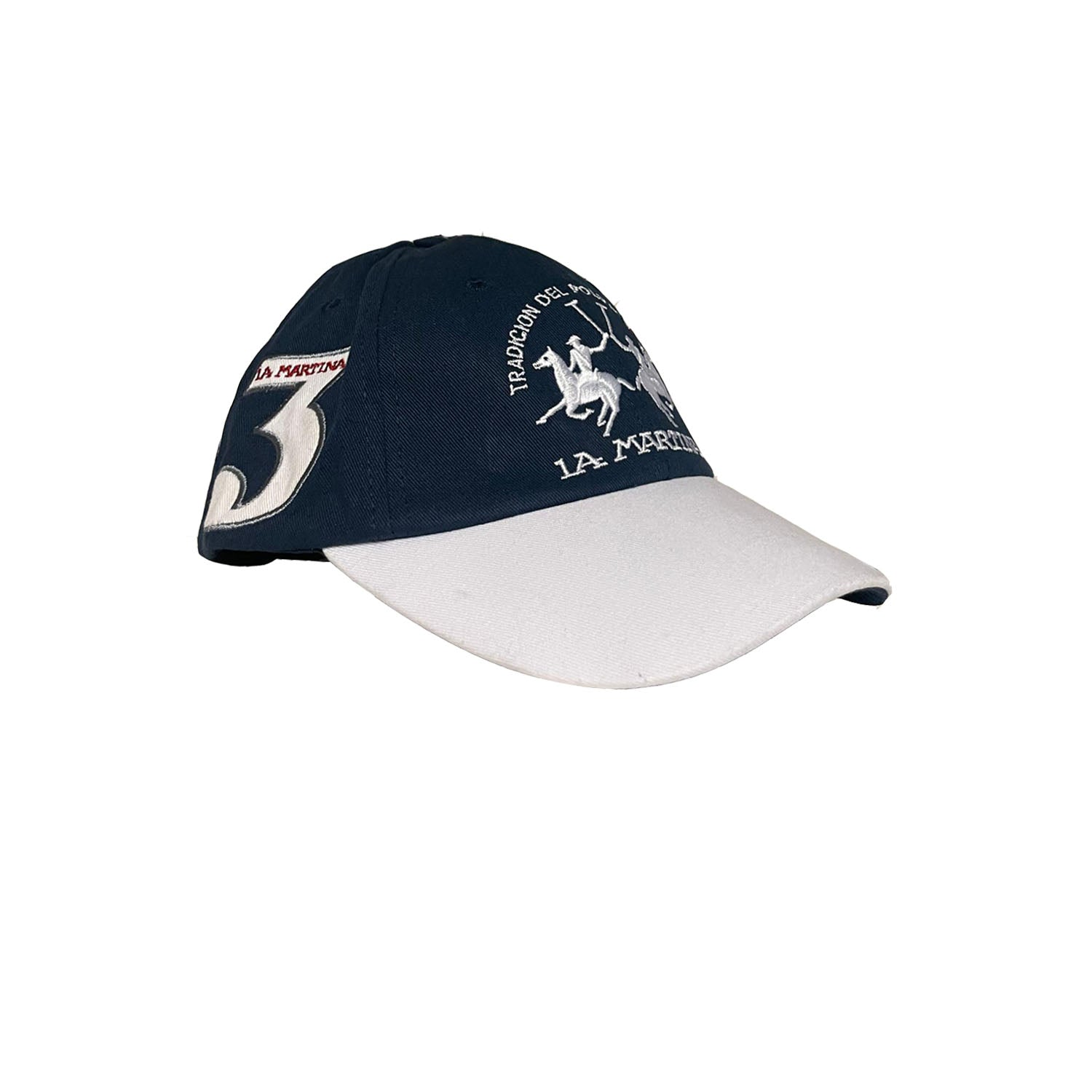 La Martina Embroidered Logo Unisex Twill Cotton Cap