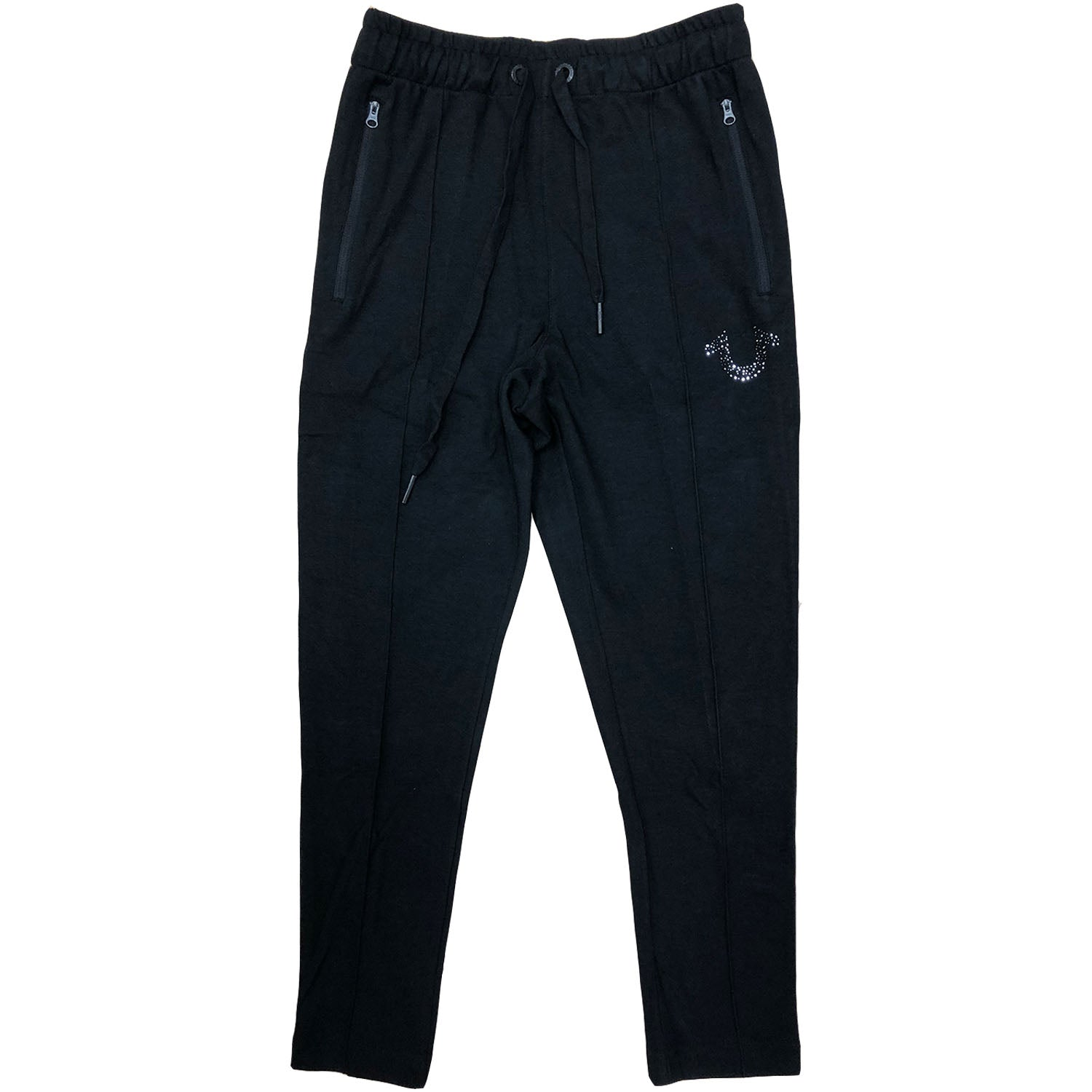 True Religion Tapered R Stone Logo Sweatpants