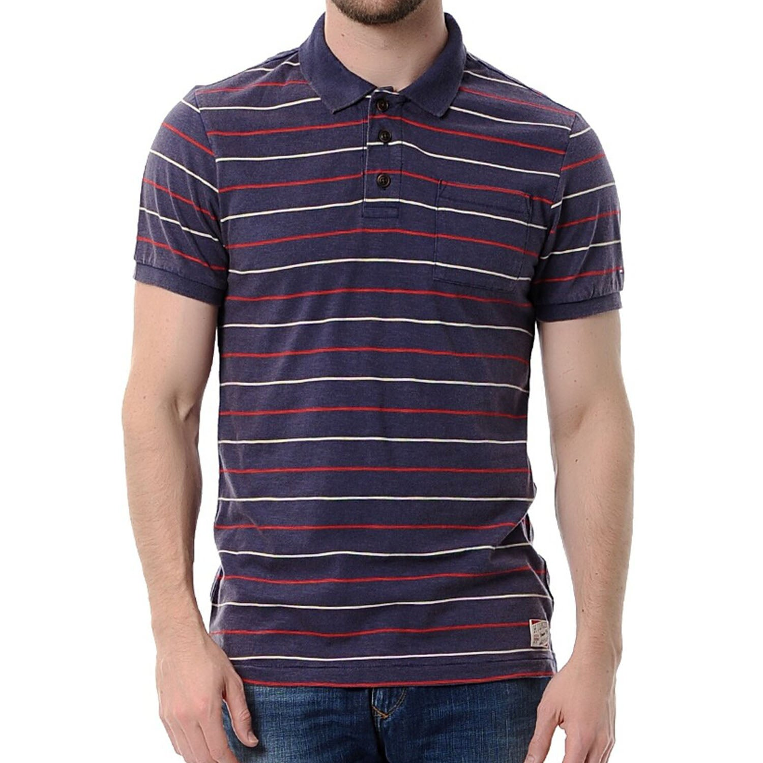Hilfiger Denim Andy Block Stripes Polo T-Shirt