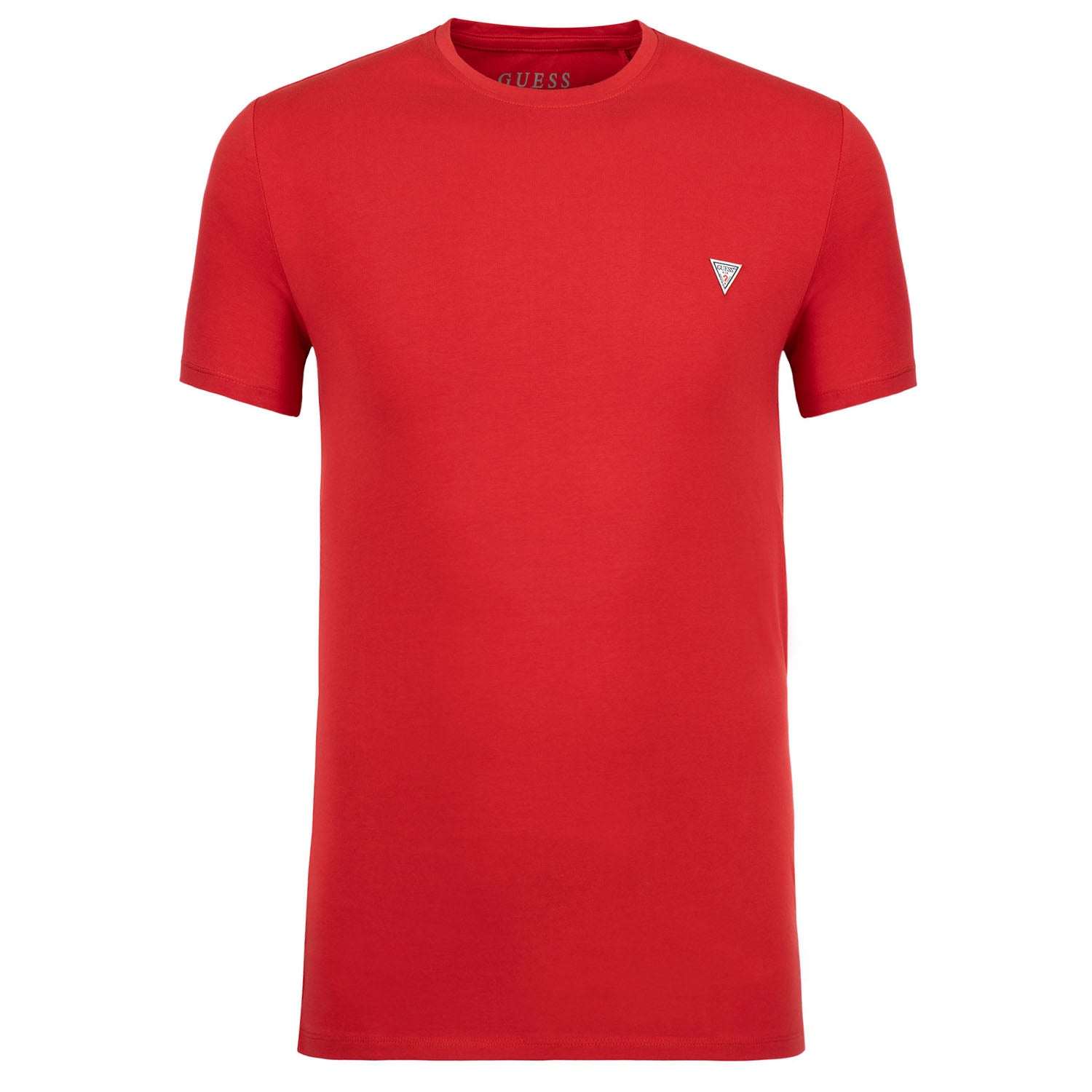 Guess Super Slim Fit Logo Detail Stretch T-Shirt