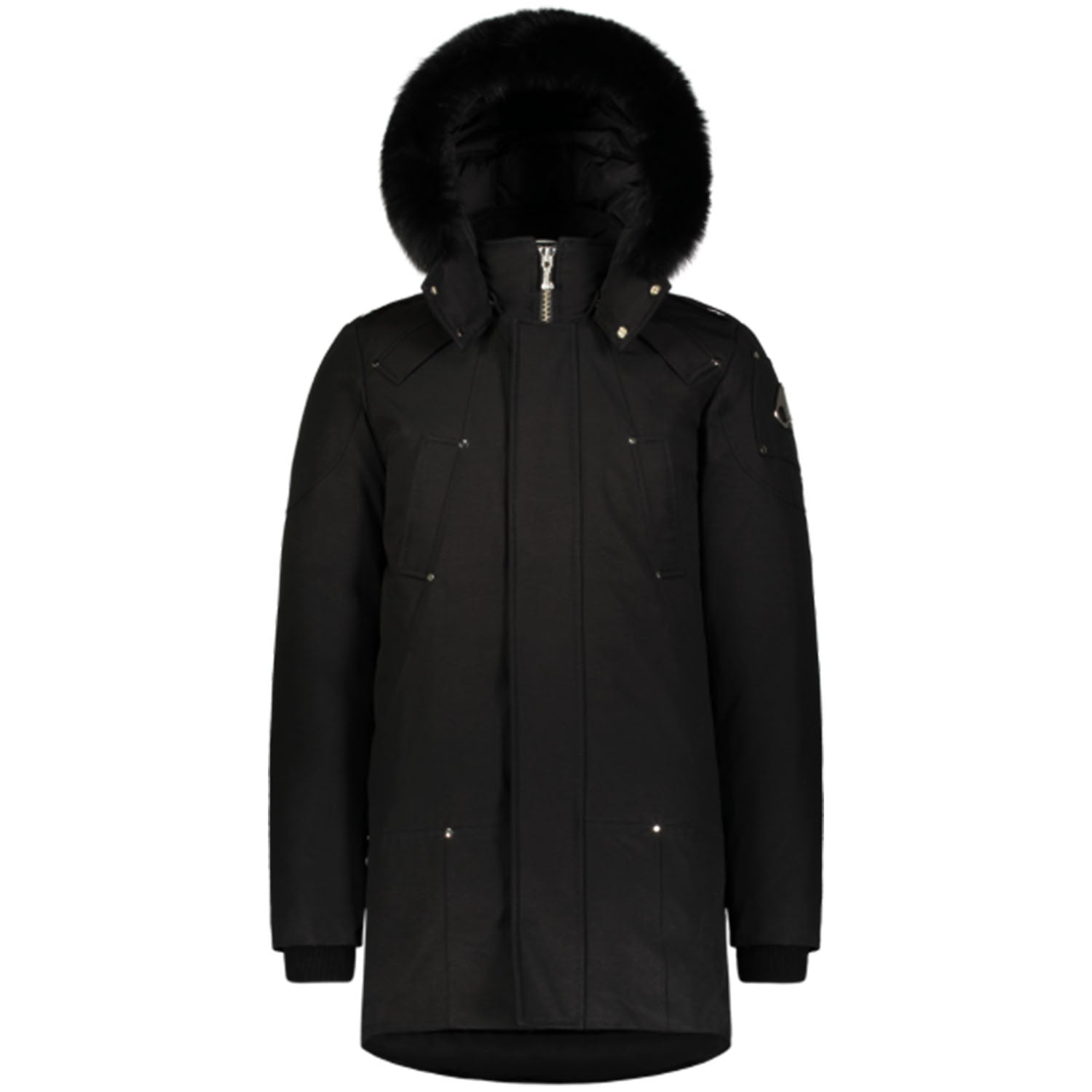 Moose Knuckles Black Sterling Parka