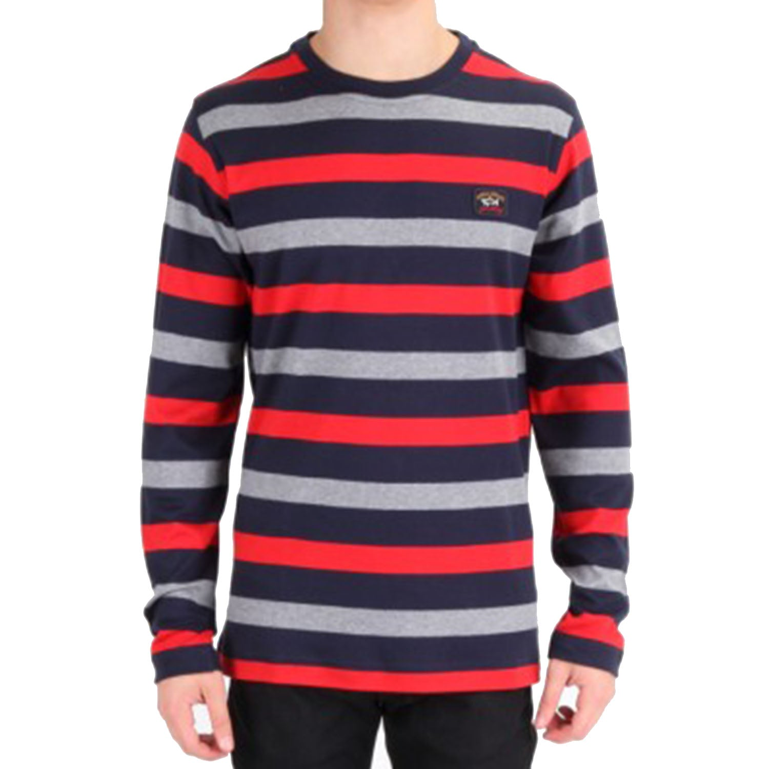 Paul & Shark Striped Long Sleeves T-Shirt