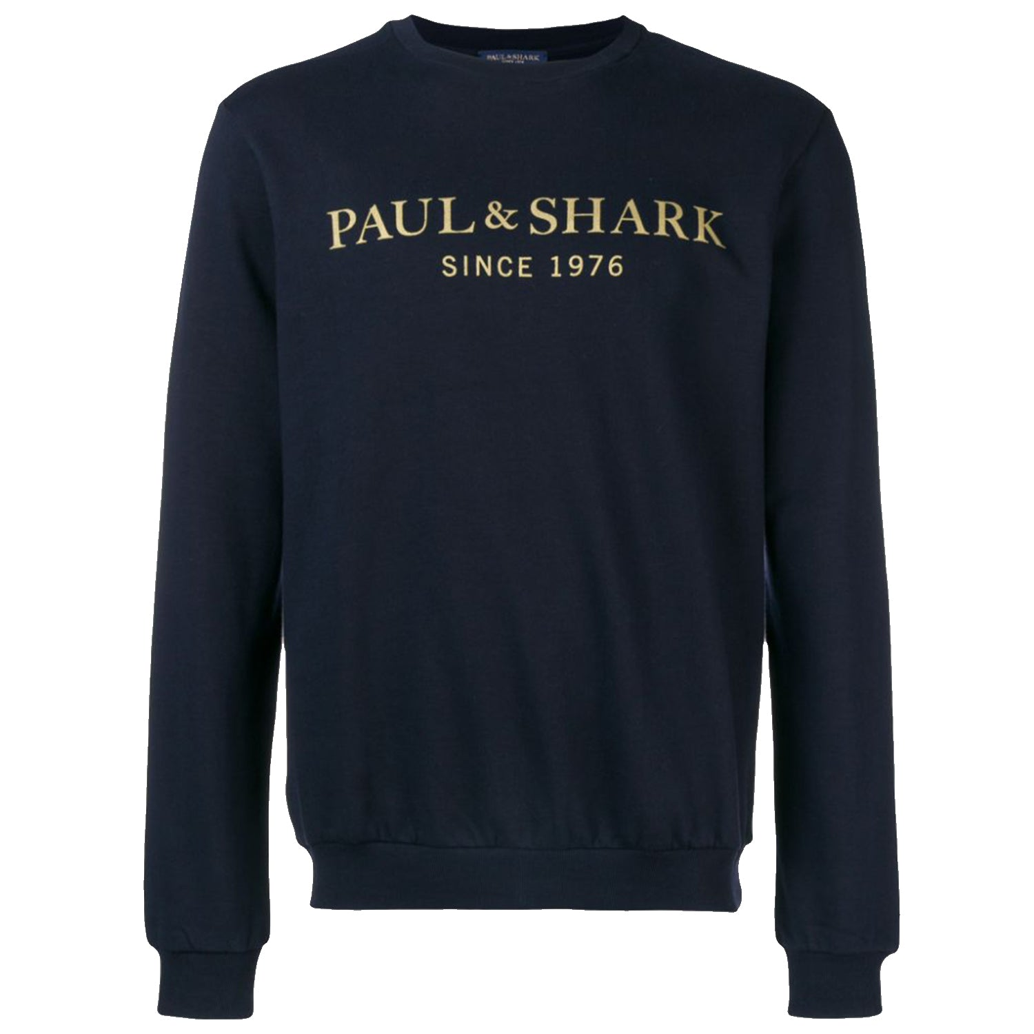 Paul & Shark Front Logo Print Sweatshirt