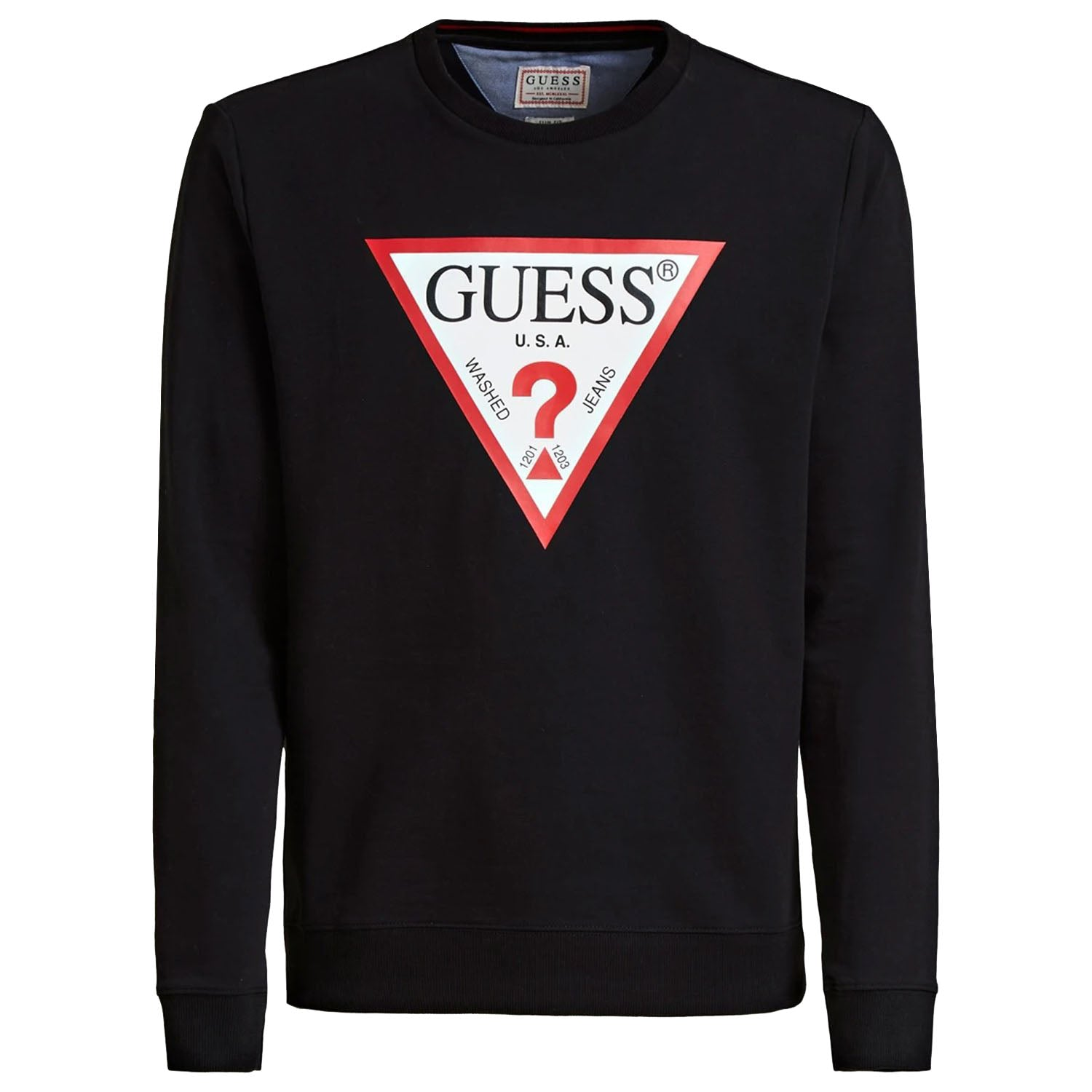 Guess Triangle Logo Front Sweatshirt