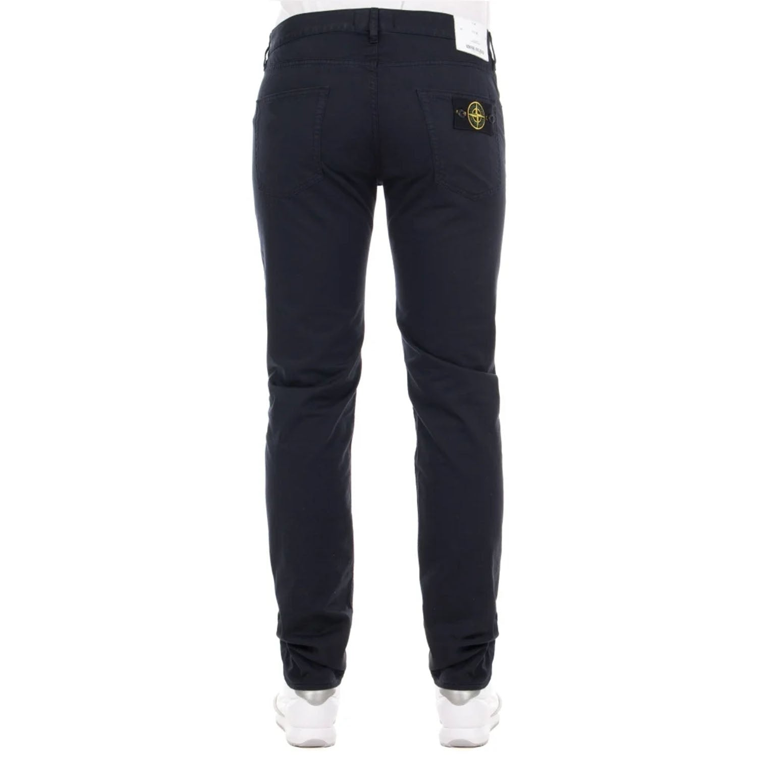 Stone Island Badge Logo Slim Fit Jeans