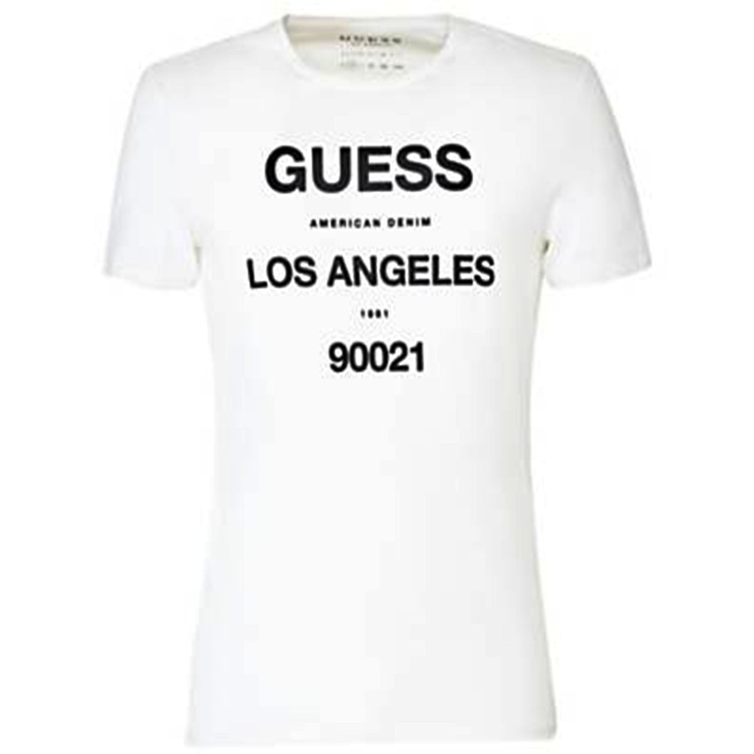 Guess Super Slim Fit Lettering Printed T-Shirt