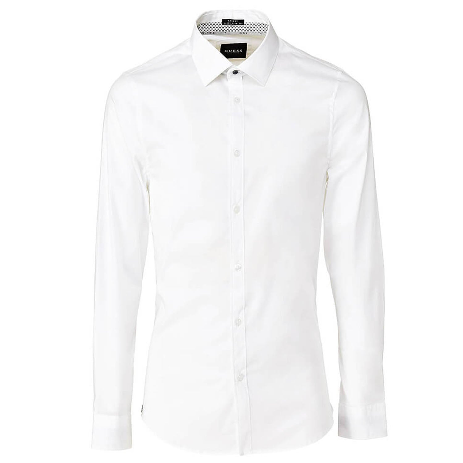 Guess Valley Super Slim Fit Shirt White