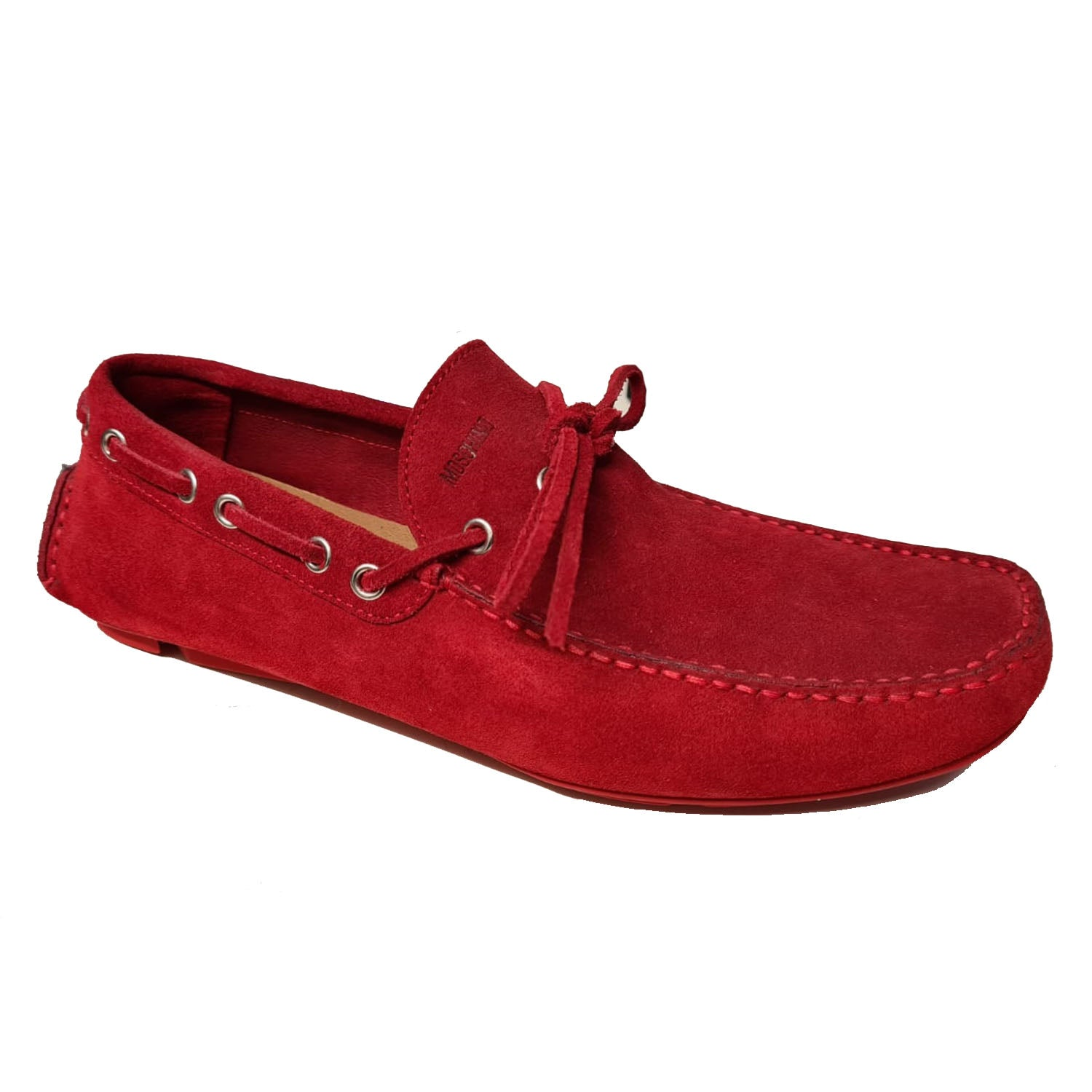 Moschino Crosta Suede Loafer