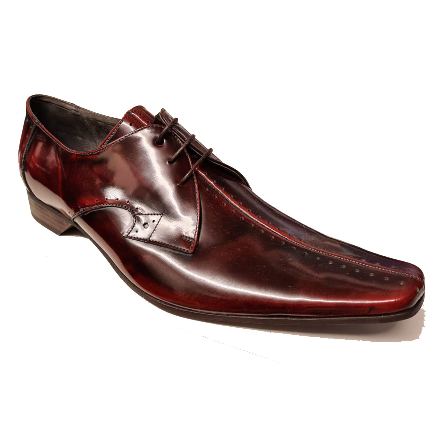 Jeffery West Centre Sim Mid Brown Lace Up