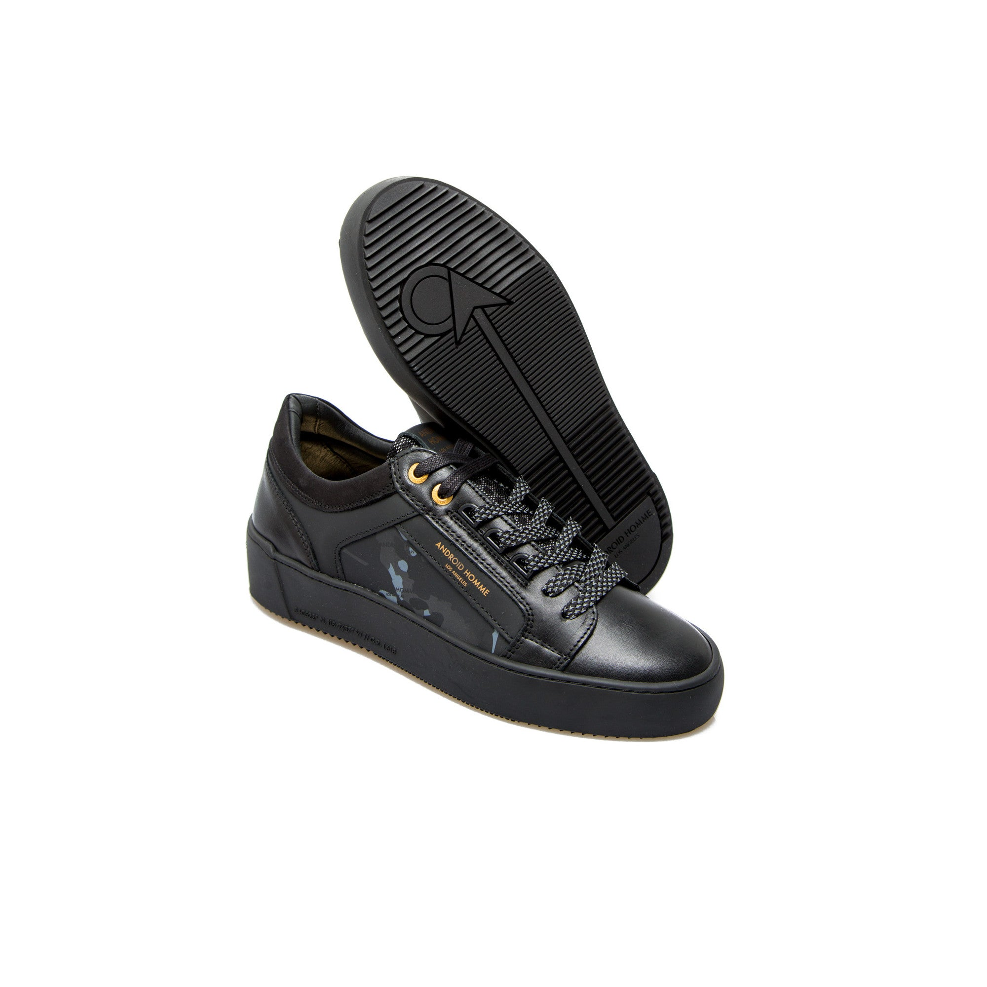 Android Homme Venice Reflexivo Camo Black Sneakers
